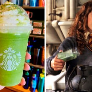 How to Order a Harry Potter-Inspired Polyjuice Potion Frappuccino at Starbucks