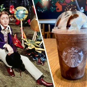 Starbucks' Secret Menu Has a Willy Wonka Frappuccino—and It's a World of Pure Imagination