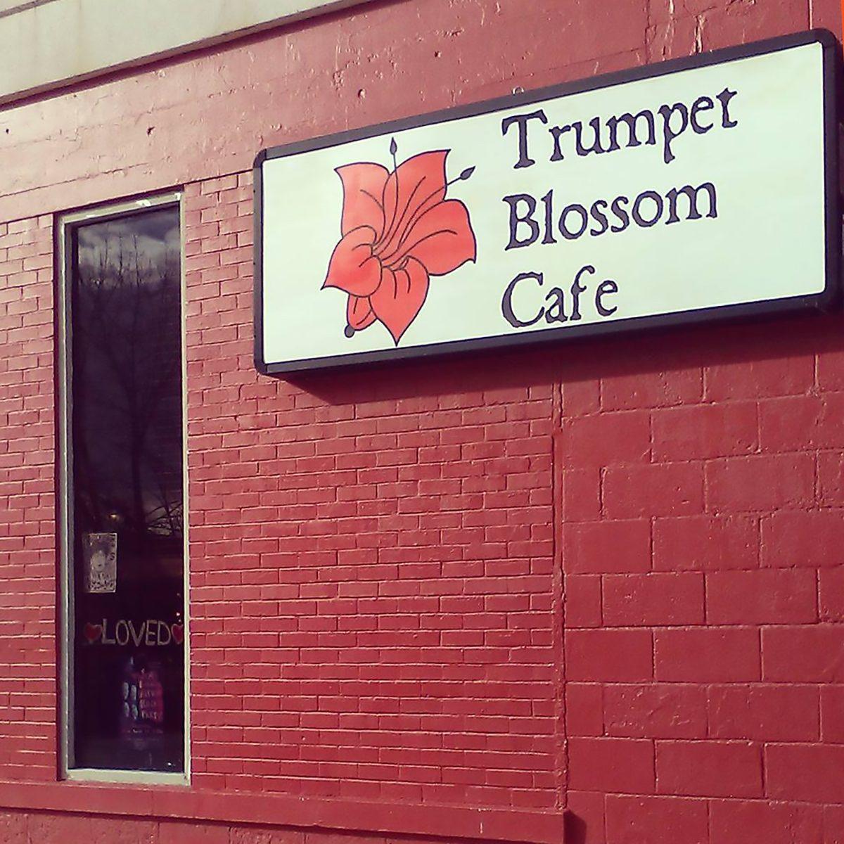 Best vegetarian and vegan restaurant in Iowa Trumpet Blossom Cafe