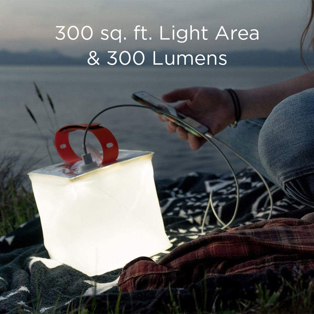 two in one lanter and camping phone charger