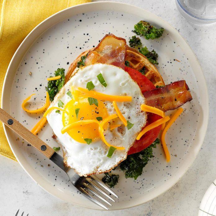 Breakfast BLT Waffles