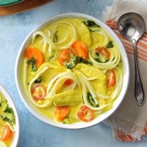 Ceylon Chicken Curry Noodle Soup