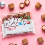 Stuffed Puffs Just Revealed a New Chocolate Peppermint Bark Flavor for the Holidays