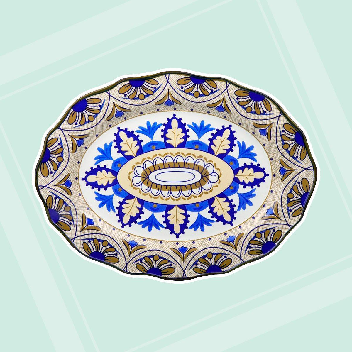 Lorren Home Trends Bimini Collection Platter