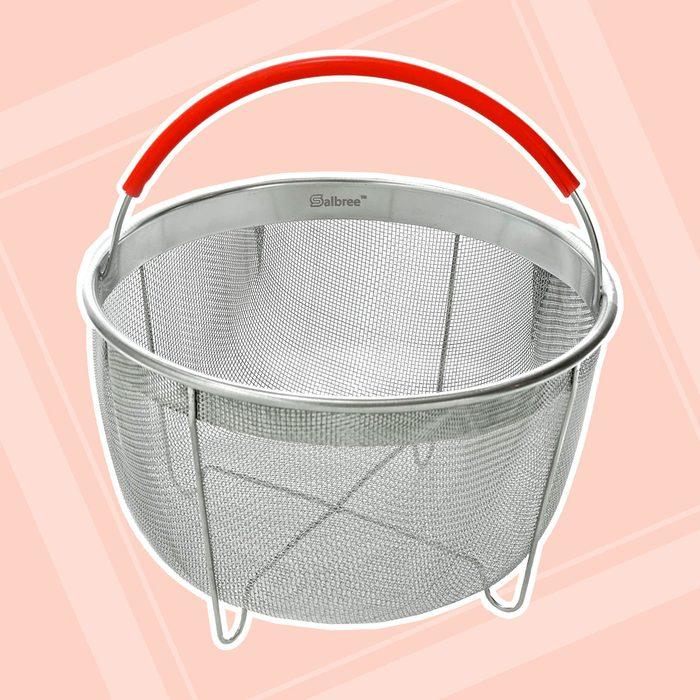Original Salbree Steamer Basket for 3qt Instant Pot Accessories