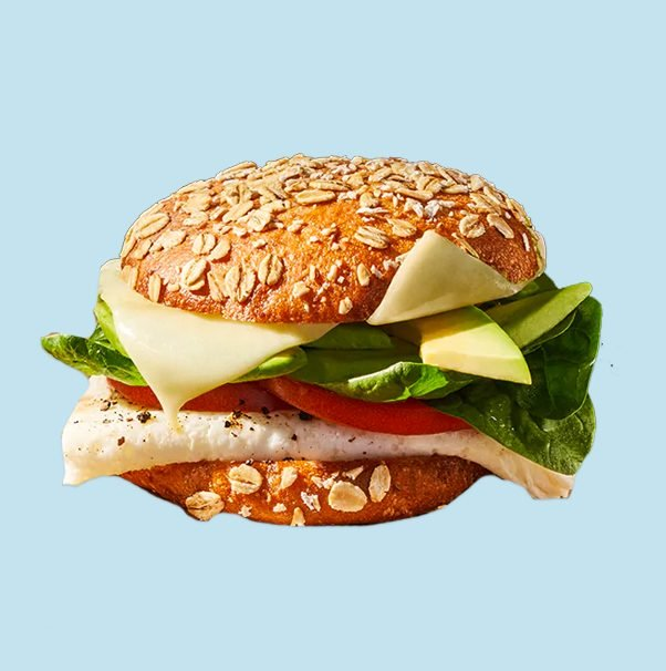 Panera's Avocado, Egg White and Spinach Sandwich