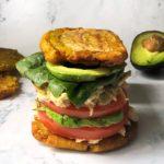 How to Make Patacon Maracucho (Fried Plantain Sandwich)
