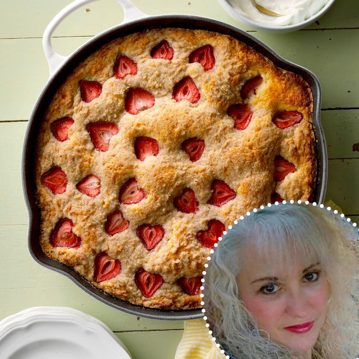 ROTY Claudia Lamascolo Strawberry Buttermilk Skillet Shortcake