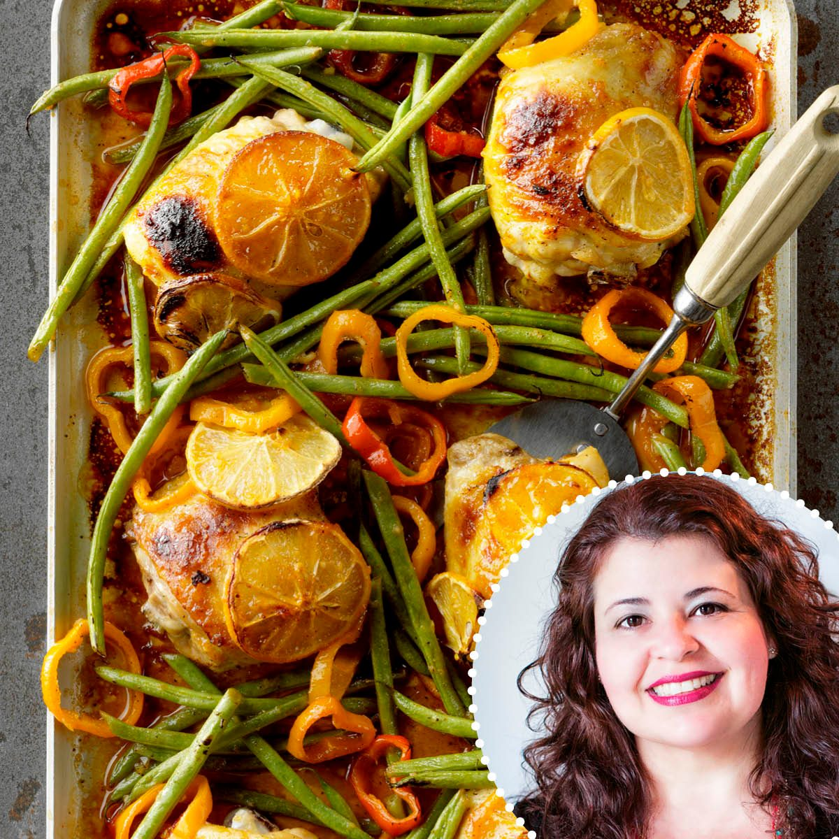 ROTY Denise Browning Sheet-Pan Honey Mustard Chicken