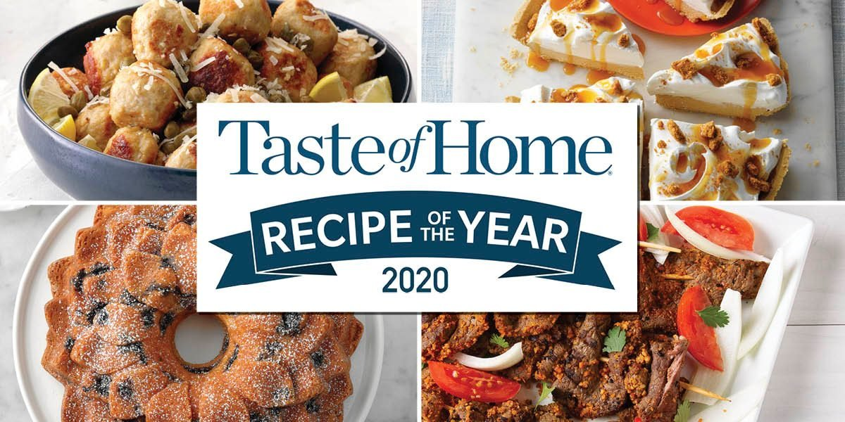 Taste of Home's Recipe of the Year Finalists