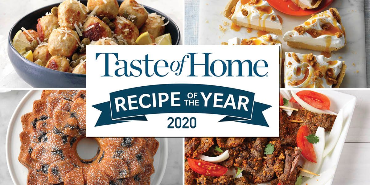Announcing the 2020 Recipe of the Year Finalists
