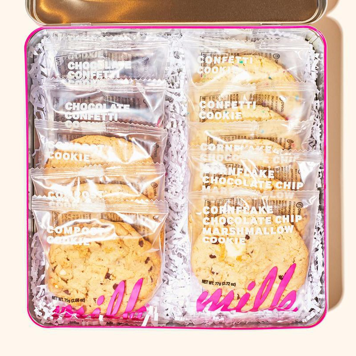 THE COOKIE FAVES TIN