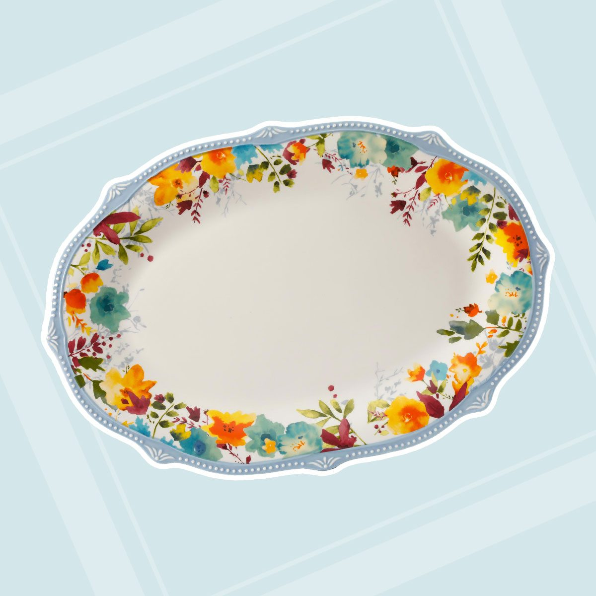 The Pioneer Woman Willow 21-Inch Oval Platter