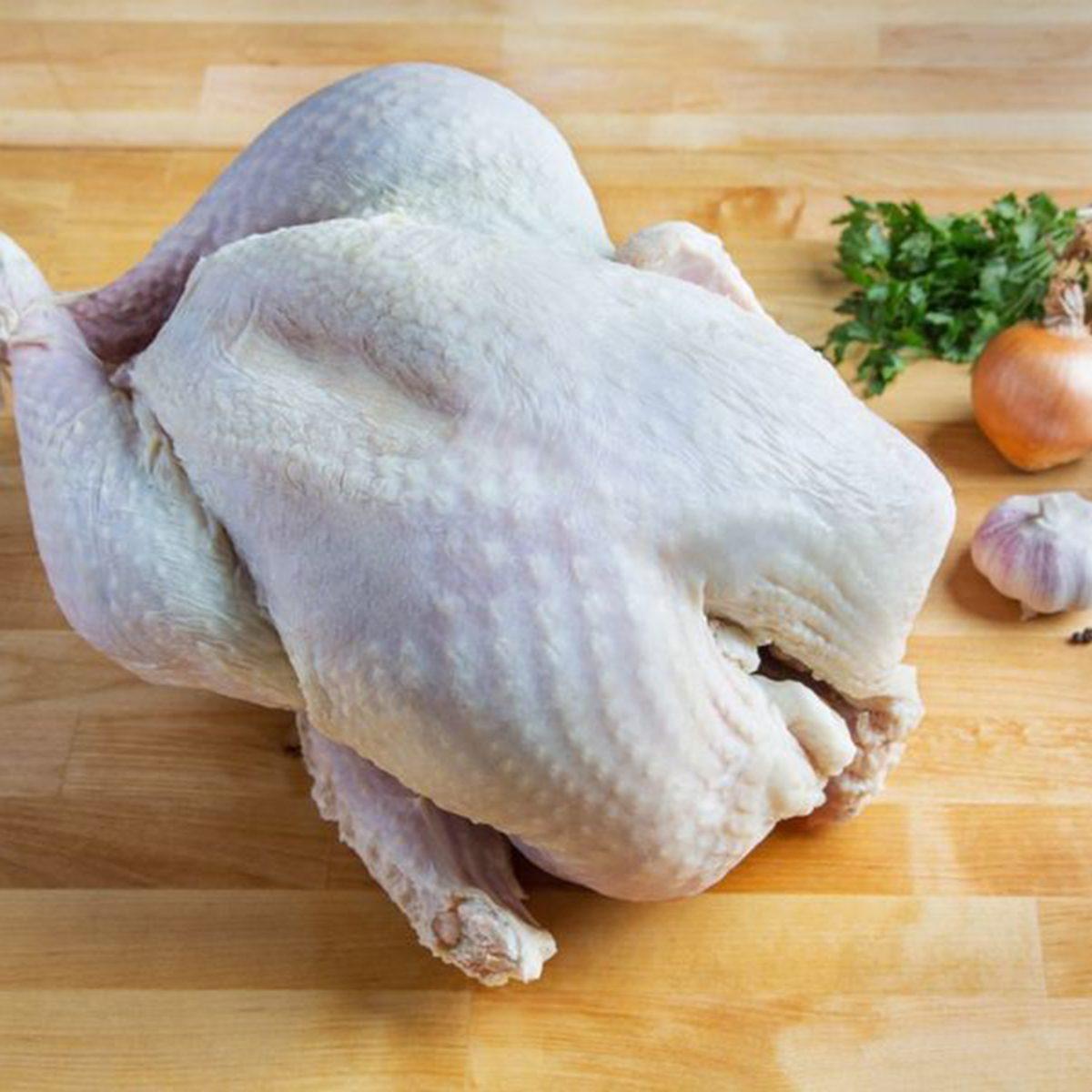 organic, kosher-certified turkeys