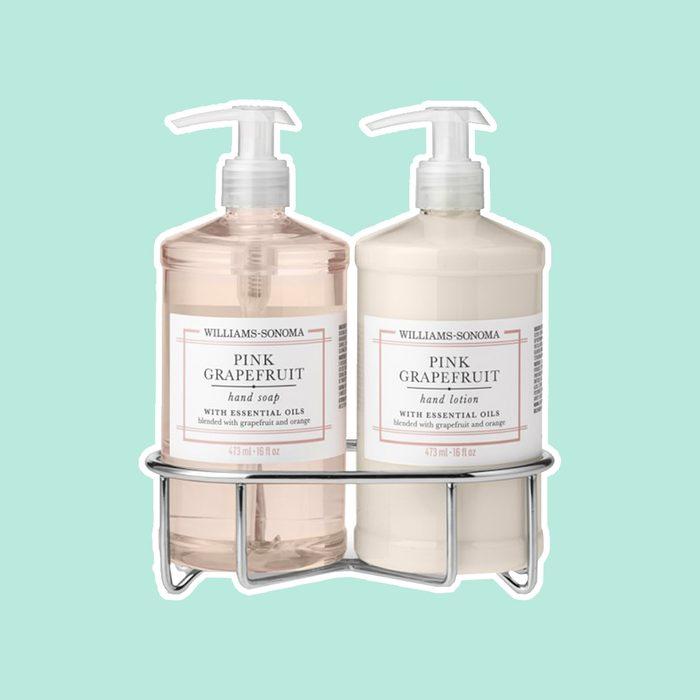 Williams Sonoma Pink Grapefruit Soap & Lotion