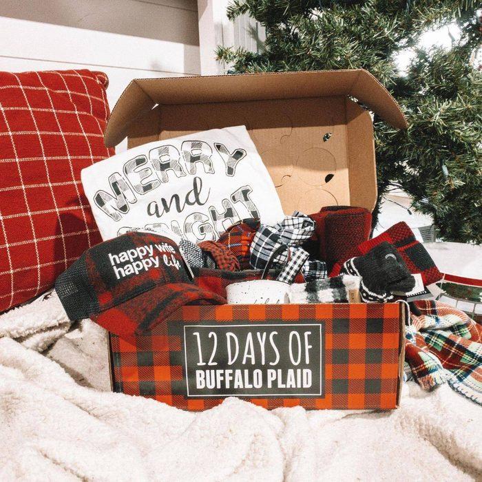 12 Days of Buffalo Plaid advent calendar