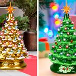 This Ceramic Christmas Tree Is Perfect for the Holidays—Here's Where to Find Yours