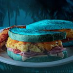 Denny's Is Selling a Spooky, Blue Sandwich on Halloween in Honor of the Blue Moon