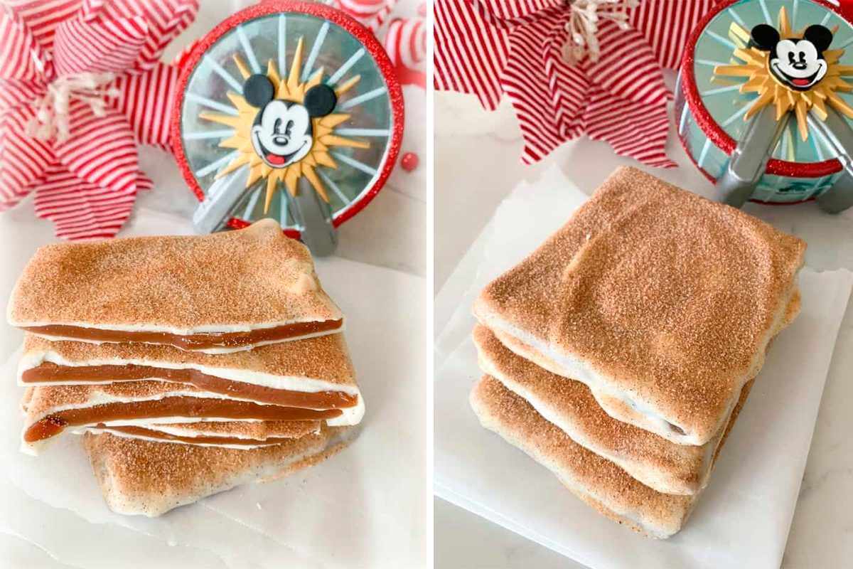 How To Make Disney S Churro Toffee Recipe At Home Taste Of Home