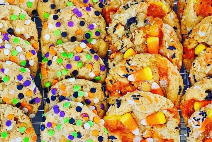 Halloween Trash cookies