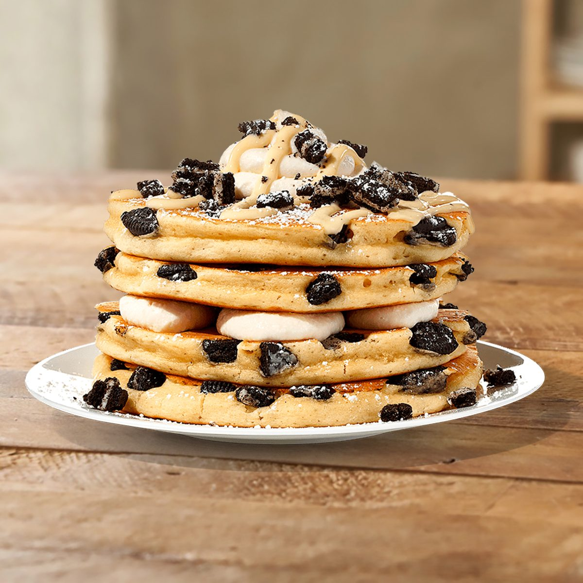 IHOP Cookies and Cream Pancakes