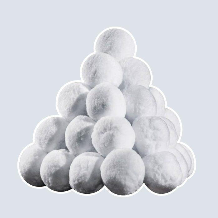 Original Fun Factory Indoor Snowballs 20-Piece