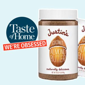 Justin's Coconut Almond Butter Is the Healthy Snack We Need Right Now