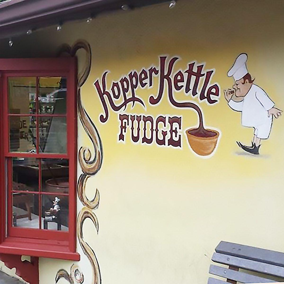 The Best Fudge Shop in Georgia - Kopper Kettle Fudge