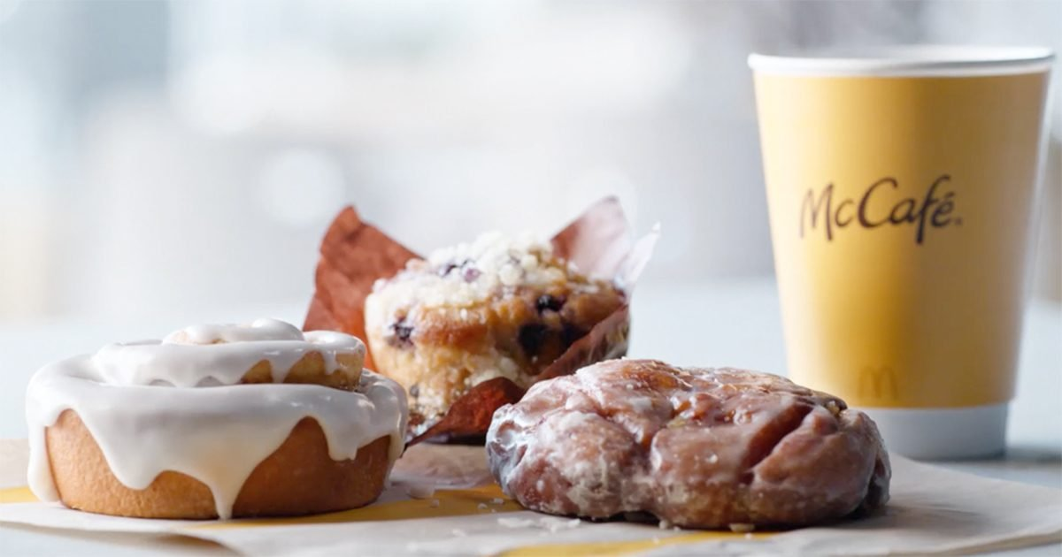 McDonald's Is Handing Out FREE Muffins, Apple Fritters and Cinnamon Rolls Next Week