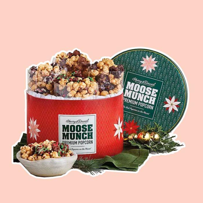 Moose Munch® Premium Popcorn Holiday Tin