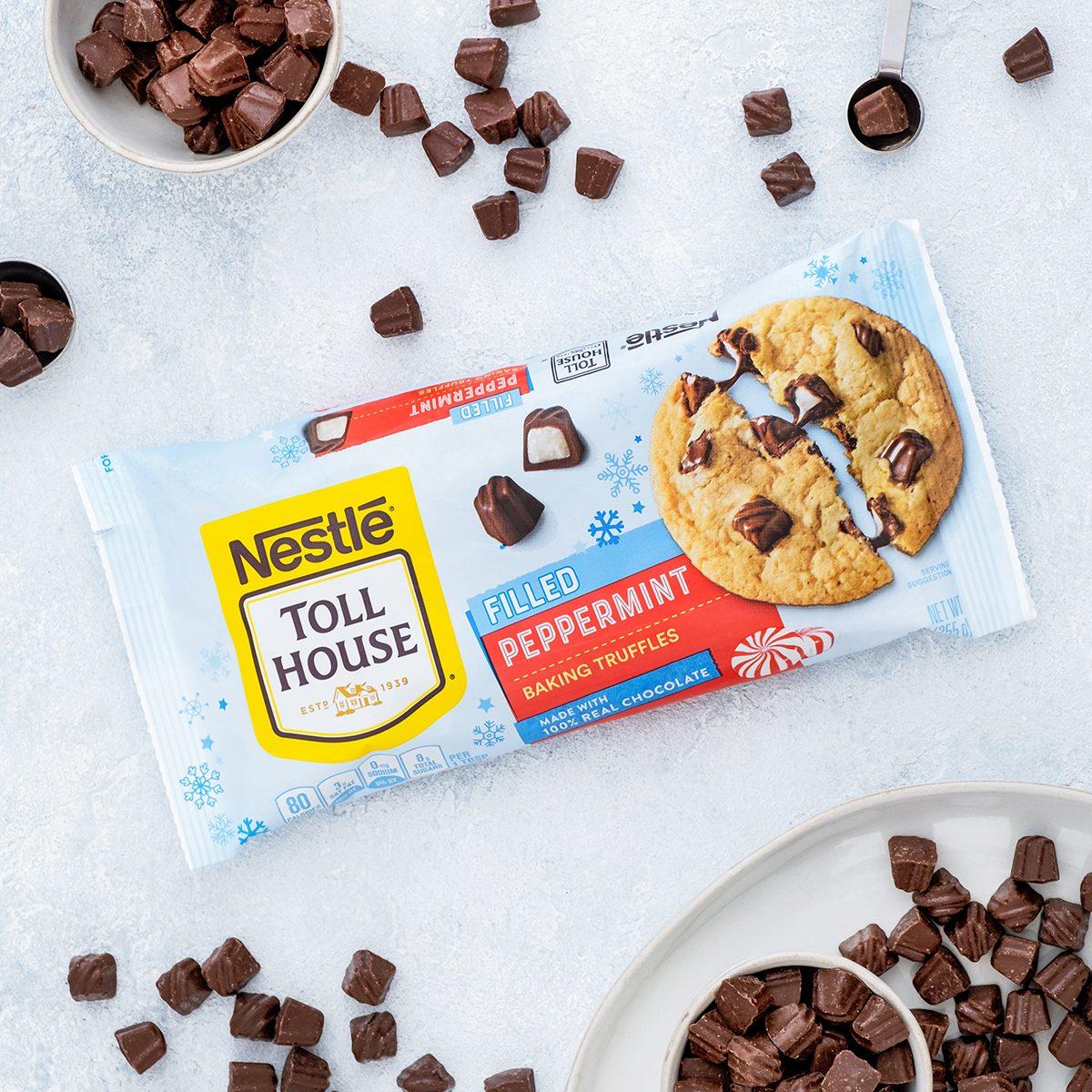Nestle Toll House peppermint baking truffles