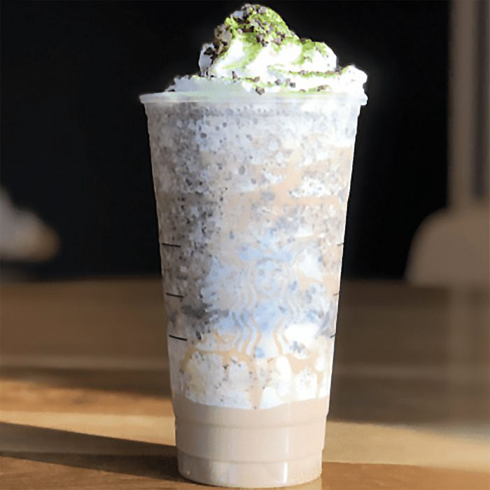 OOGIE BOOGIE FRAPPUCCINO AT STARBUCKS square crop