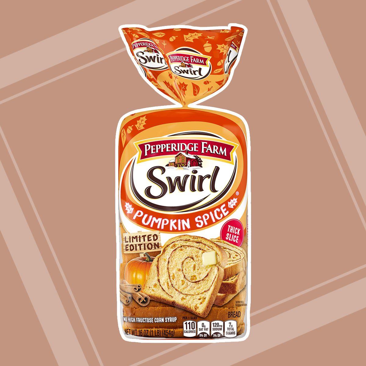 Pepperidge Farm Pumpkin Spice Swirl Bread