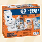 Pillsbury's Fall Variety Box Includes Chocolate Chip, Pumpkin and Sugar Cookie Dough