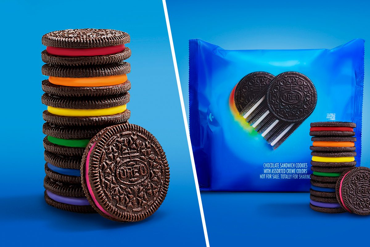 Oreo's new limited addition pride oreos