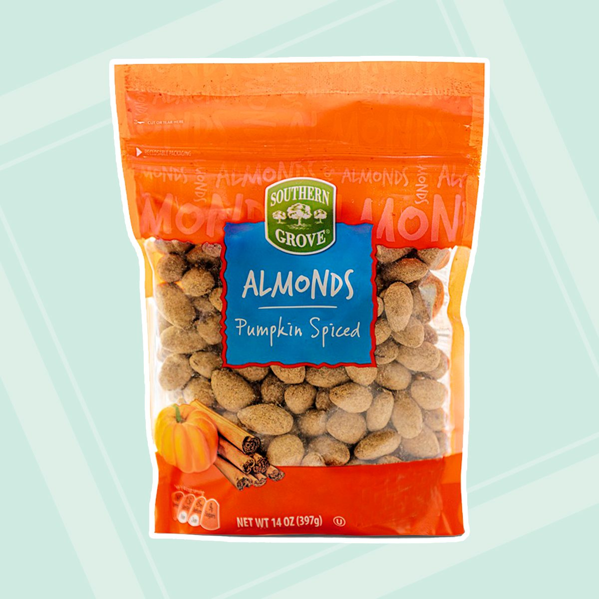 Aldi Pumpkin Spice Almonds