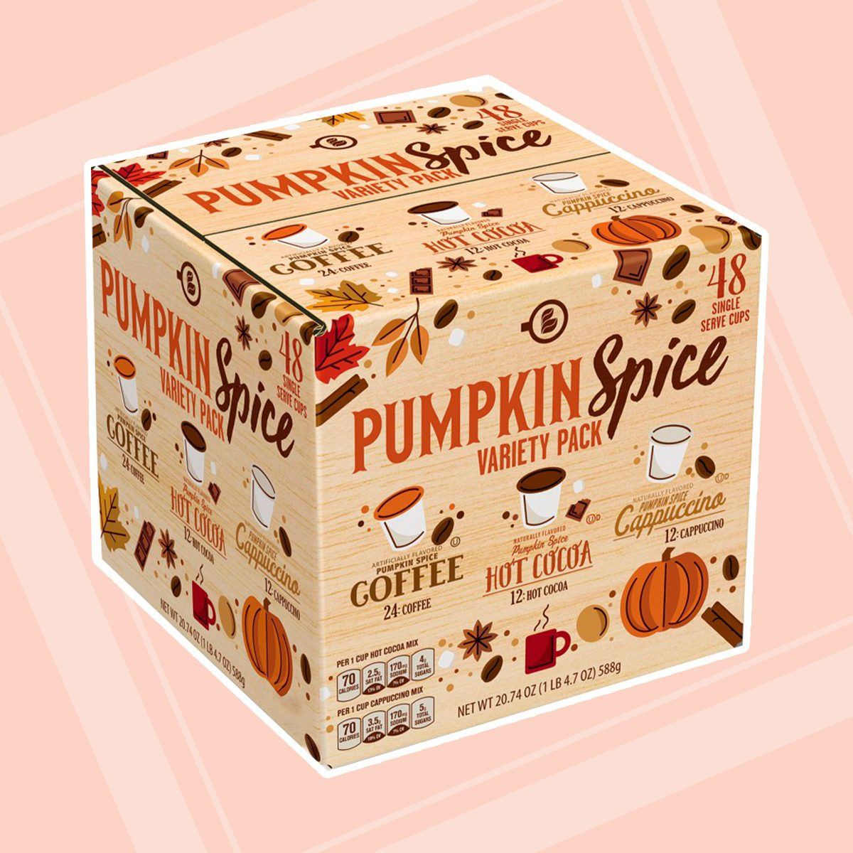 Aldi Pumpkin Spice Variety Pack Coffee