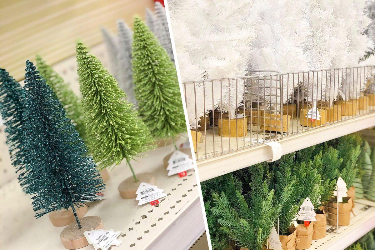 Target Mini Christmas Trees