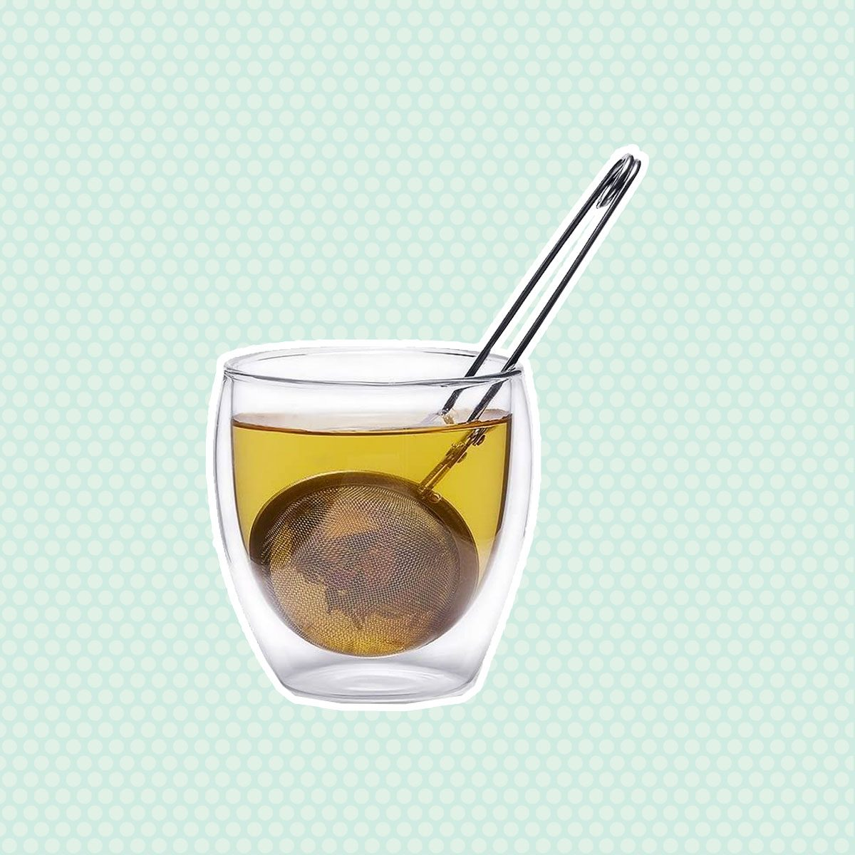 3 Pack Snap Ball Tea Strainer with Handle for Loose Leaf Tea and Mulling Spices