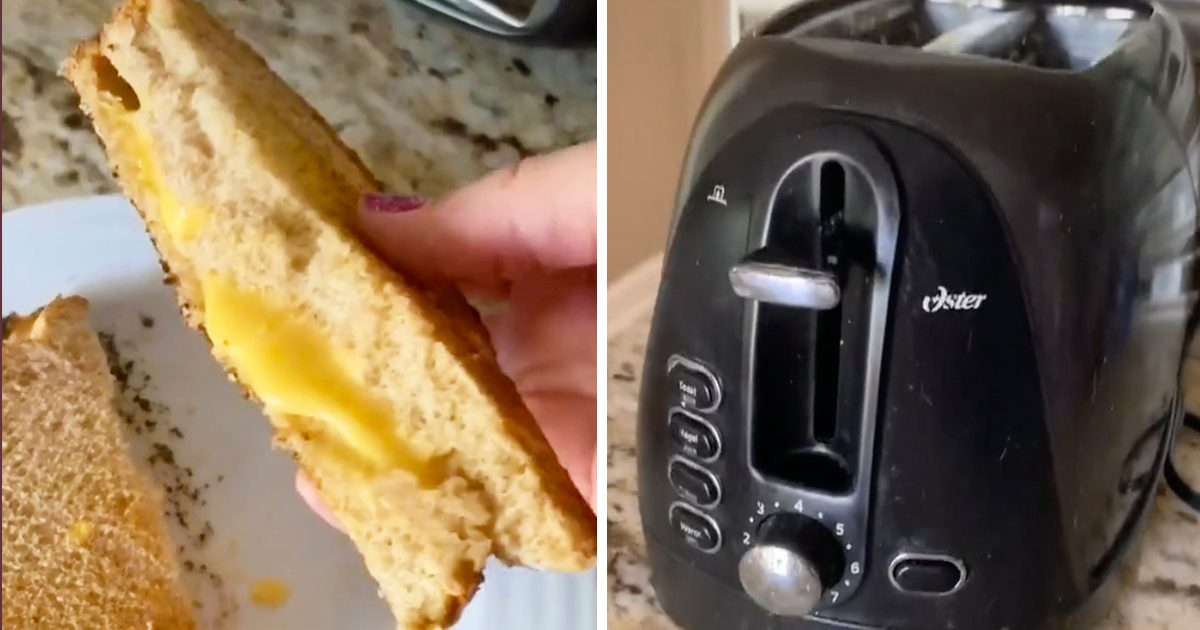 This Viral Video Shows You How to Make Grilled Cheese in Your Toaster—Yes, Really