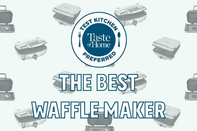 The Best Waffle Maker For Sunday Brunch Appliance Test