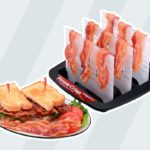 This Bacon Rack from Walmart Will Help You Microwave Crispy Bacon in Minutes