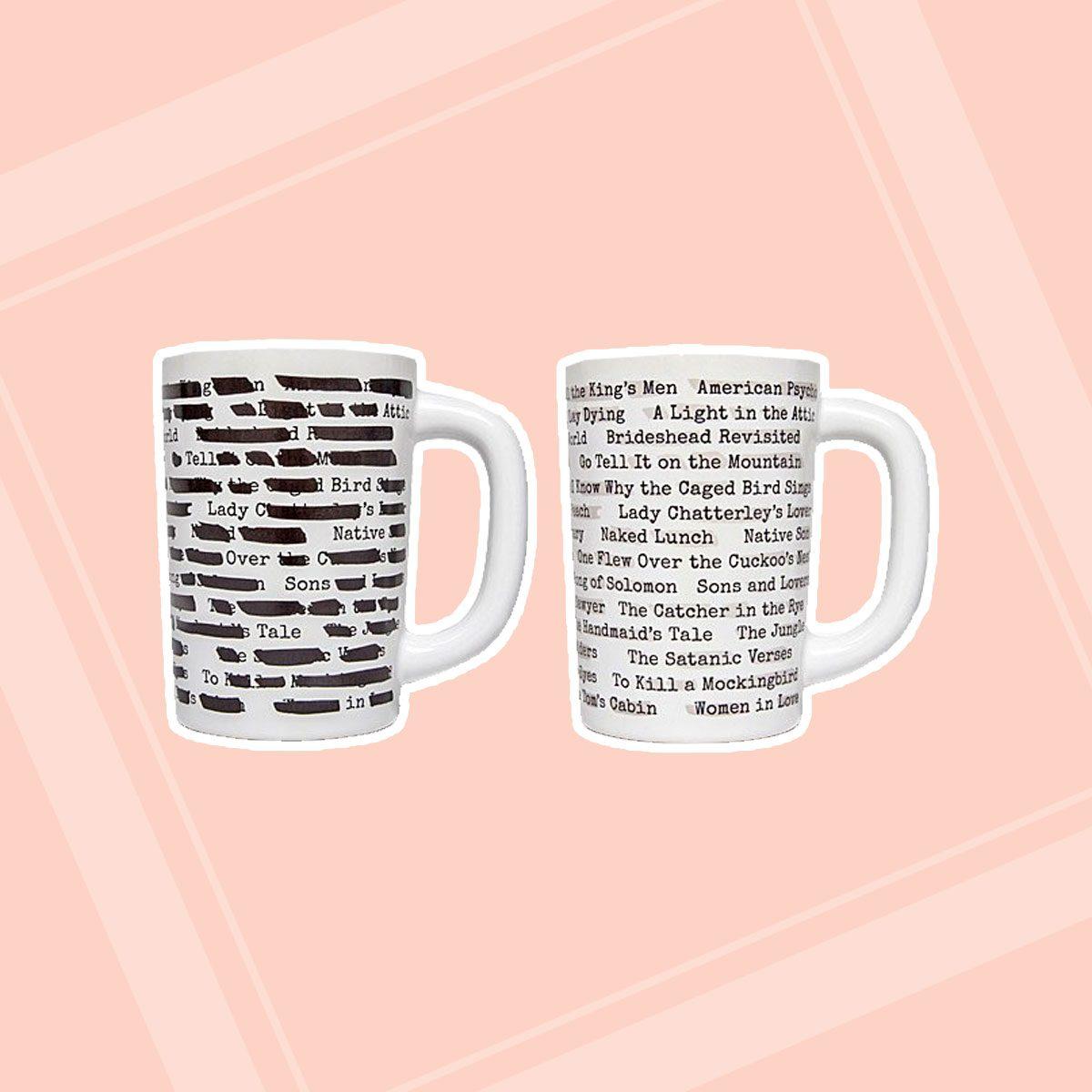 Banned Books Morph Mug