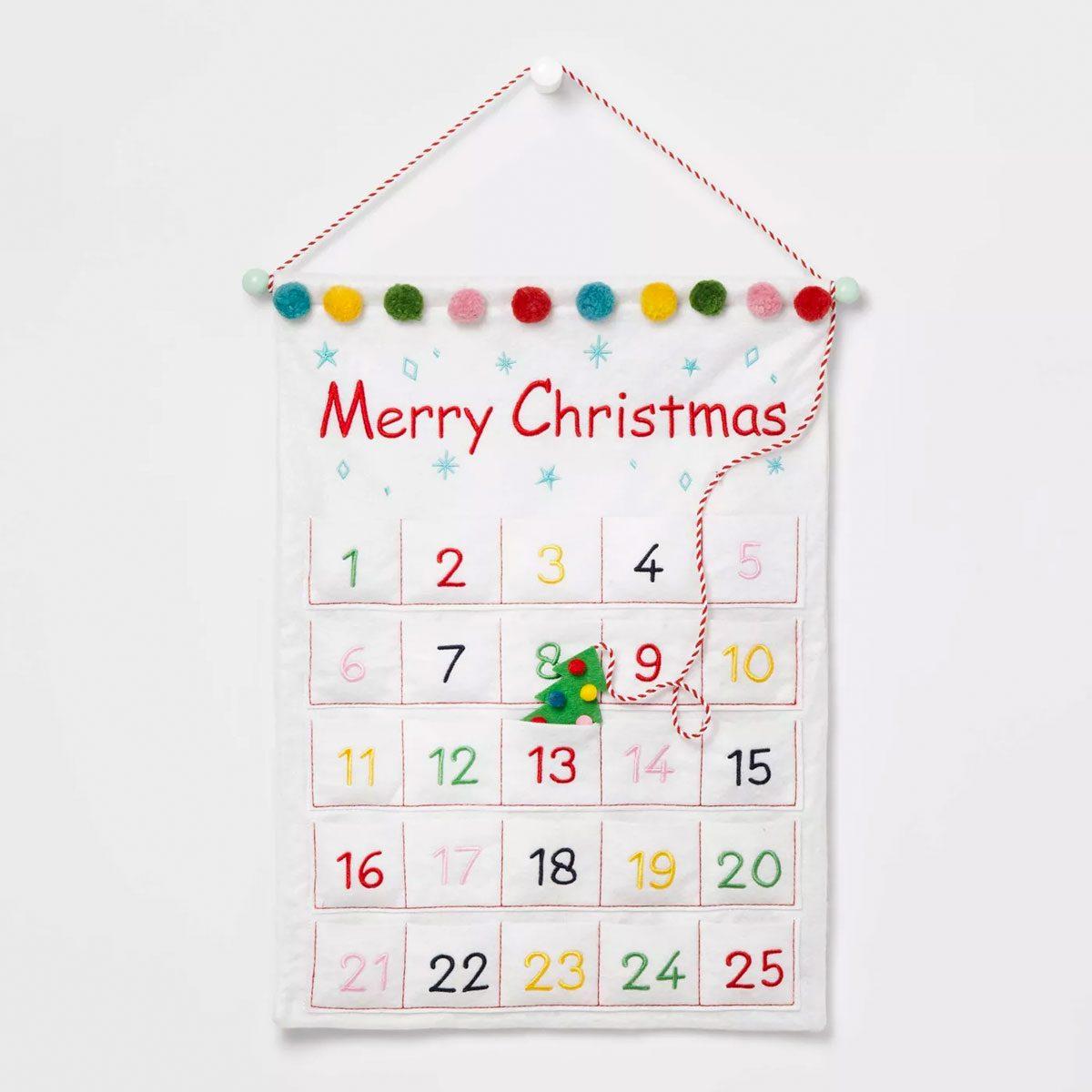 Budget Reusable Advent Calendar