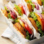 Cumin-Spiced Lentil Burgers