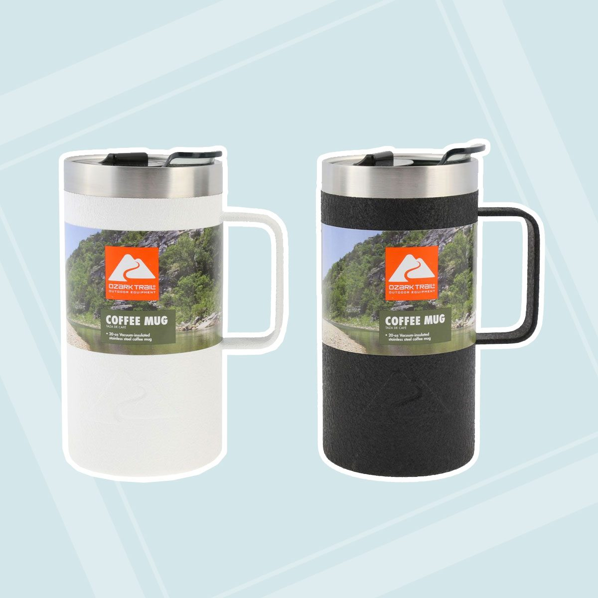 Double-Wall Vacuum-Sealed Stainless Steel Coffee Mug