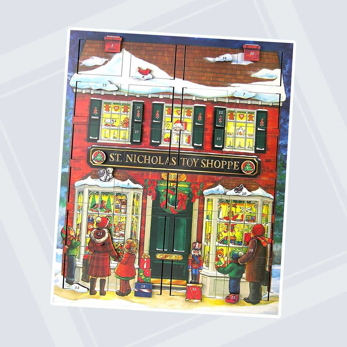 Byers' Choice Musical Advent Toy Shop Calendar #MC16 from The Advent Calendars Collection