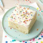 Sour Cream Sugar Cookie Cake
