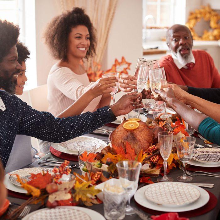 Thanksgiving toast