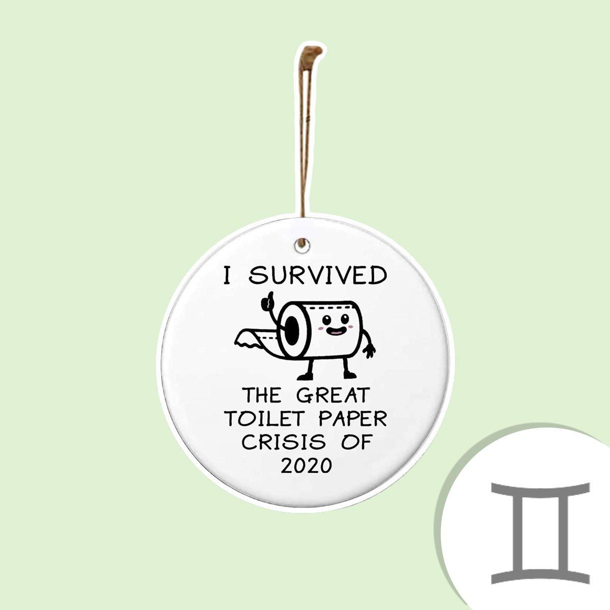 Toilet Paper Crisis 2020 ornament